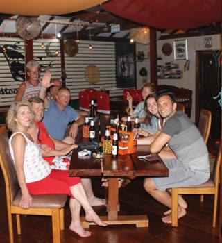 holiday in thailand   onsite dining at harleymoon hideaway resort